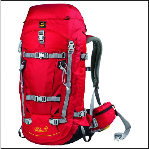 Balo Jack Wolfskin Mountaineer 48L RedBalo Jack Wolfskin Mountaineer 48L Red